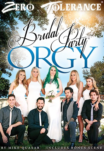 Bride party orgy