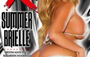 Summer Brielle Graces Cover of March XCitement Mag
