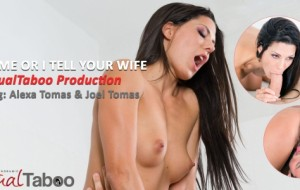 Alexa Tomas Featured in Virtual Taboo's 'Fuck Me, or I Tell Your Wife'