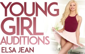 Young Girl Auditions Starring Elsa Jean