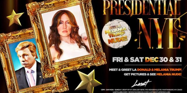 Melania Trump LA Performs Live & Headlines at Lust Gentlemen's Club