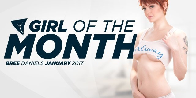 Bree Daniels Girlsway January 2017 Girl of the Month