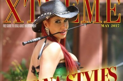 Savana Styles Graces the Cover of Xtreme Mag for May