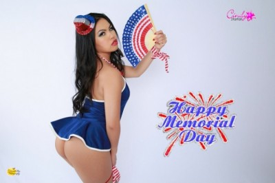 Cindy Starfall Offers A Memorial Day Special