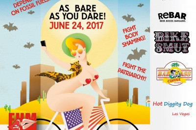 The Erotic Heritage Museum Hosts The Second Annual Las Vegas World Naked Bike Ride Rally