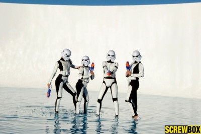 The Force Is with Screwbox & New Stormtroopers Movie