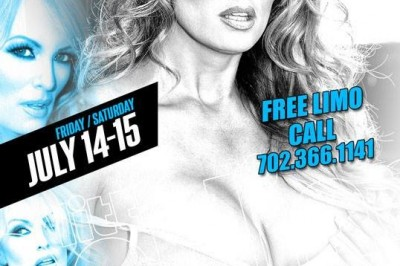 Stormy Daniels at Little Darlings Gentlemen's Club Las Vegas