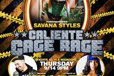 Savana Styles' Is the Main Event at Caliente Cage Rage at Dames n' Games Thursday