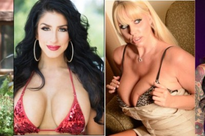 4 of The Rub PR's Hottest MILFs Featured at MILFtastic Booth at Adultcon