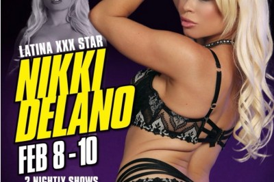 Nikki Delano Featuring at Larry Flynt's Hustler Club in Shreveport, Louisiana