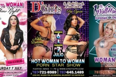 Nikki Delano Featuring at Multiple Gentlemen's Clubs in San Juan, Puerto Rico This Week