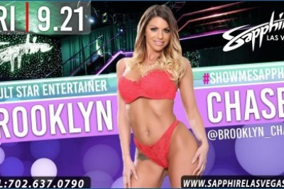 Brooklyn Chase Returns to Sapphire Las Vegas to Feature
