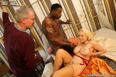 Jax Slayher Invades Europe, Conquers Angel Wicky on Dogfart's CuckoldSessions.com