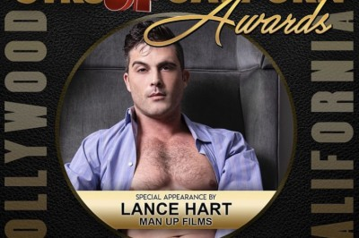 Lance Hart Is Ready to Rock the Str8UpGayPorn Awards
