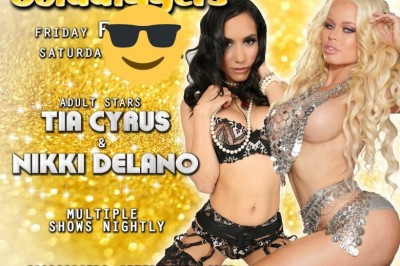 Nikki Delano Teams up with Tia Cyrus to Feature at Golddiggers in Fresno, CA