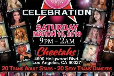 Kimber Haven Featuring at Trans All-Star Celebration, Attending TEAs & Guesting on Vivid Radio
