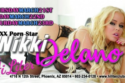 Nikki Delano Set to Headline at Hi Liter in Phoenix, Arizona