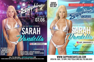 Celebrate the July 4th in Style in Vegas with Sarah Vandella