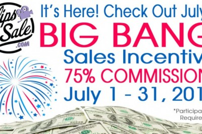 Clips4Sale Starts July off with a Bang…a Big Bang Sales Incentive!