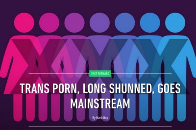 Kimber Haven Profiled in Ozy Article About Trans Porn Going Mainstream