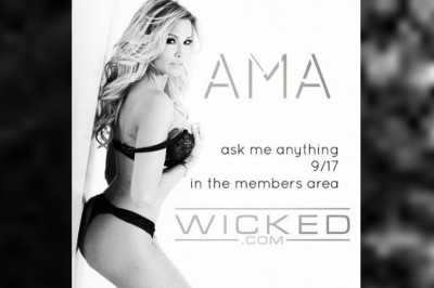 Jessica Drake Sets Candid Q&A for Wicked.com Forum Tomorrow
