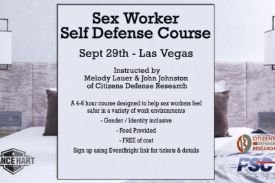 Sunday Is Lance Hart & Free Speech Coalition's Self-Defense Class in Vegas