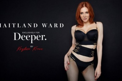 Maitland Ward Inks 1st Exclusive With Kayden Kross' Deeper