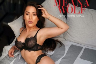 Meana Wolf Scores Cover & Feature in XBIZ Clip World Mag