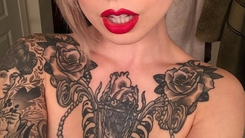 Can you recognize a porn-star by her tattoo?