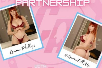 Lauren Phillips Announces Partnership with CumRocket